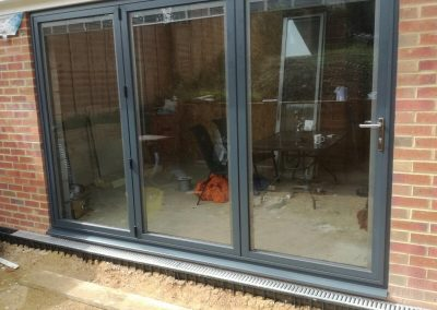 Matthew Oliver bi-fold Patio Doors