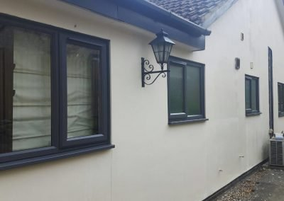 Matthew Oliver Windows & Doors uPVC Black Windows