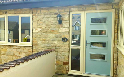 The benefits of a composite front door