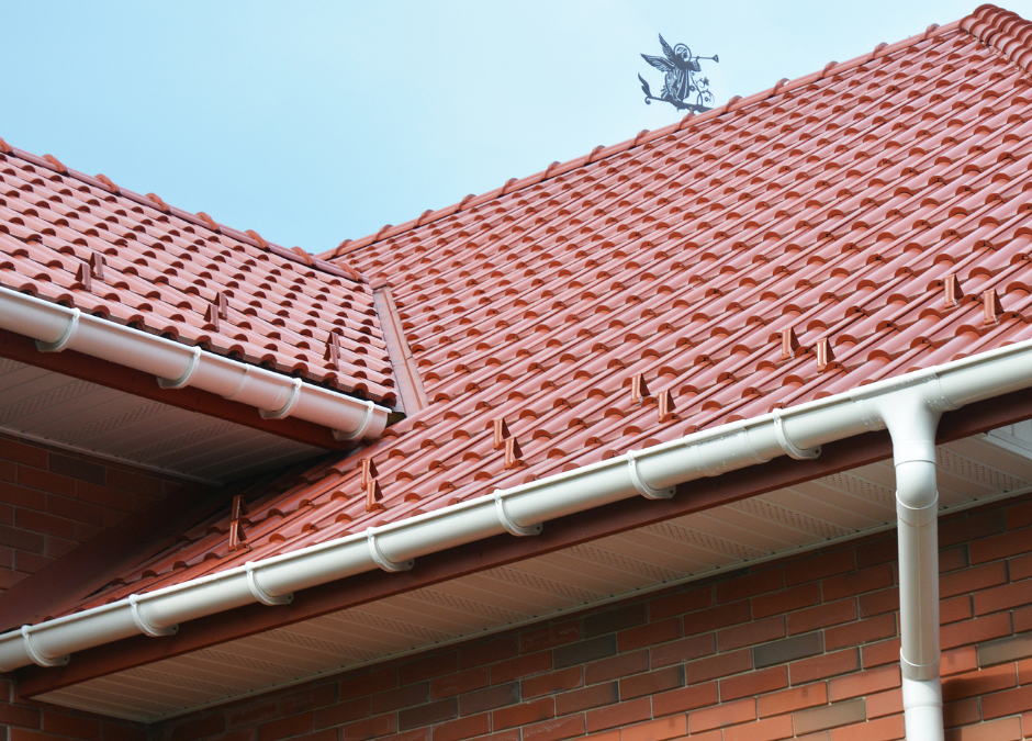 Guttering On Roof